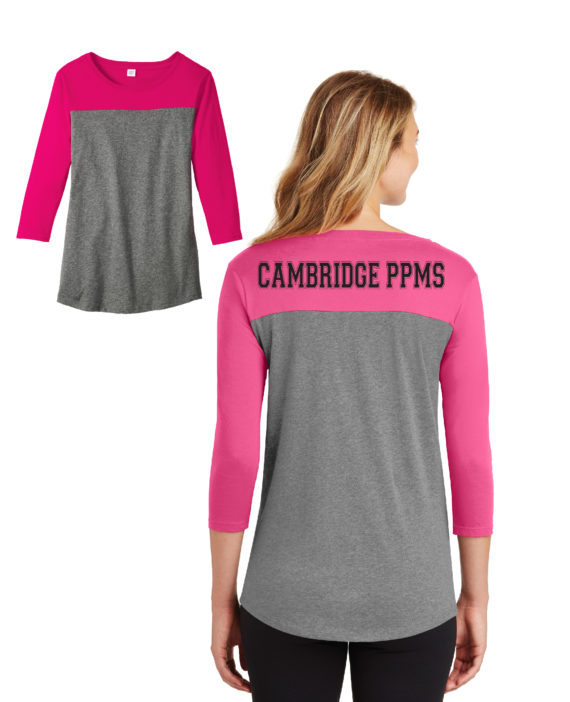 CAMB HOT PINK TEE C- DT2700